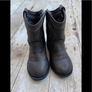 Super cute cowboy boots size 7 baby